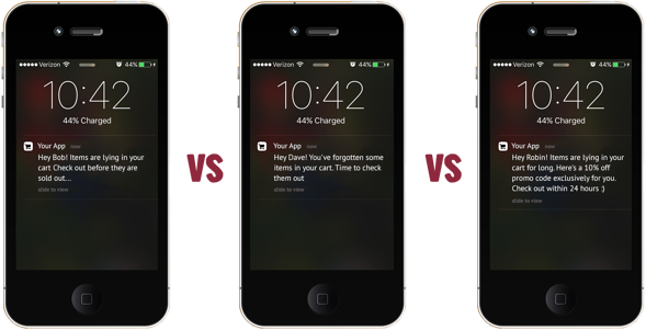 A/b testing push notifications