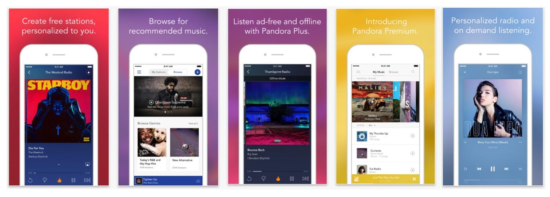 Pandora-iPhone-be-successful-app-store-optimization-screenshots.jpg