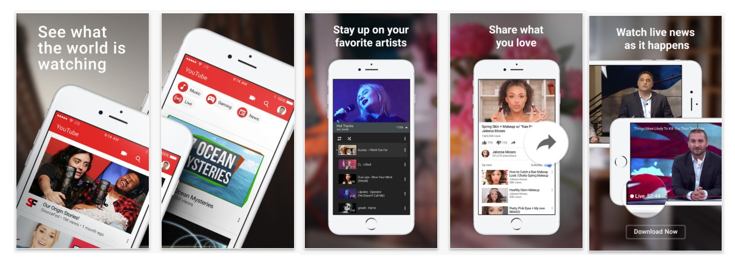 Youtube-be-successful-app-store-optimization-screenshots.jpg