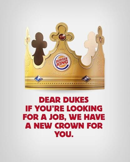 Hurree. Brand Voice. Humor. Burger king. Topical humour.