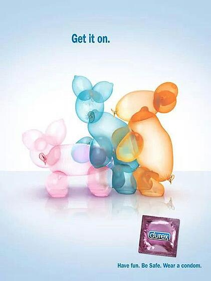 Hurree. Brand Voice. Humor. Durex. Blue Humor. Marketing Advert.