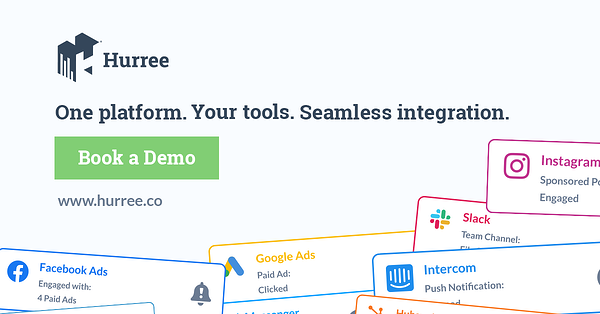 Hurree - The Segmentation Company Example Ad. One Platform. Your Tools. Seamless Integration. Book a demo. www.hurree.co.