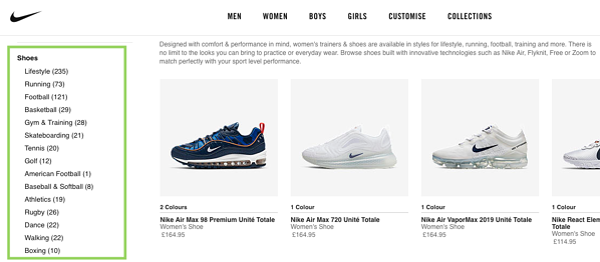 Nike Shoes Nike Sneakers Marketing Strategy Market Segmentation