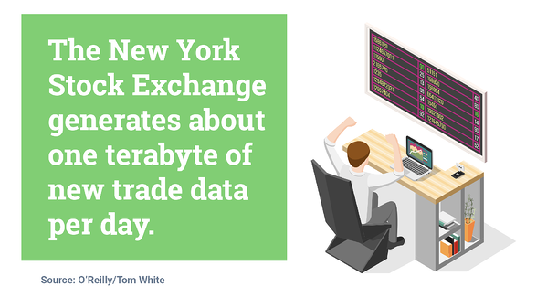 the new york stock exchange generates about 1 terabyte of new trade data per day. Hurree - The Segmentation Company